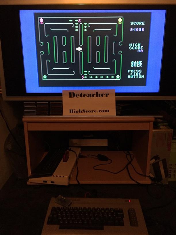 Deteacher: Pakacuda (Commodore 64) 94,090 points on 2015-12-06 20:56:03