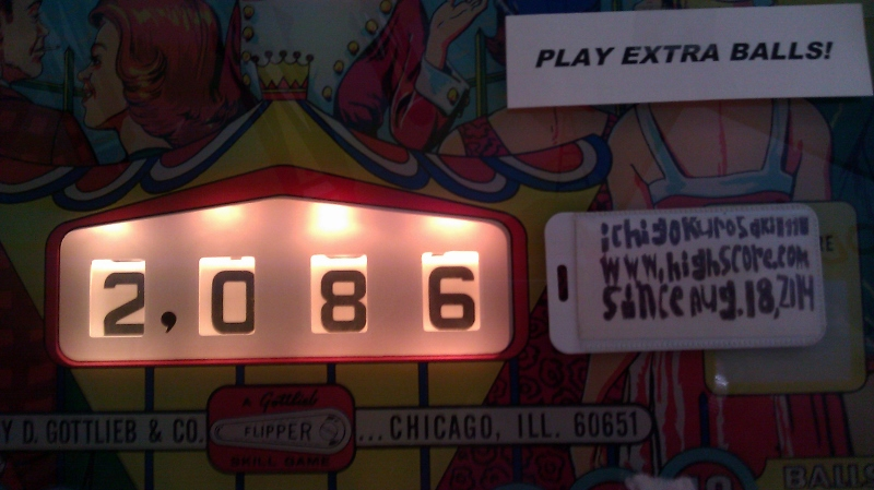 ichigokurosaki1991: Palace Guard (Pinball: 5 Balls) 2,086 points on 2016-04-07 00:01:29