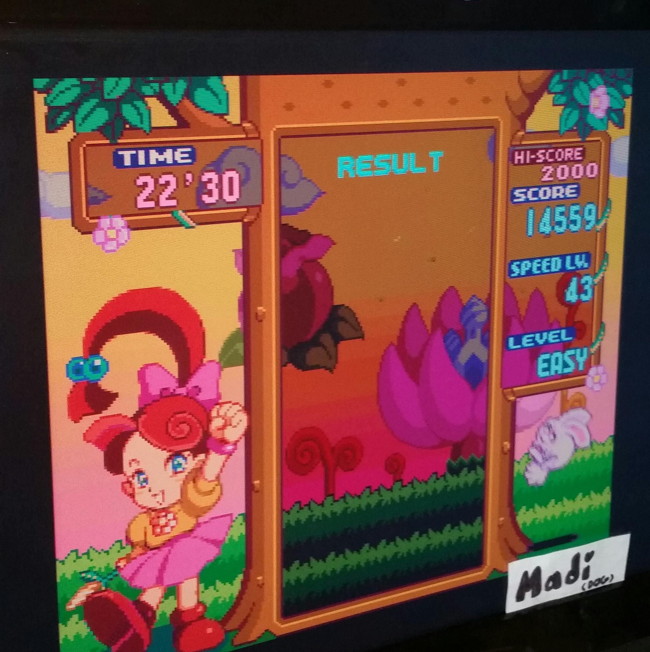 madi: Panel de Pon [Endless/Easy] (SNES/Super Famicom Emulated) 14,559 points on 2016-11-14 17:30:22