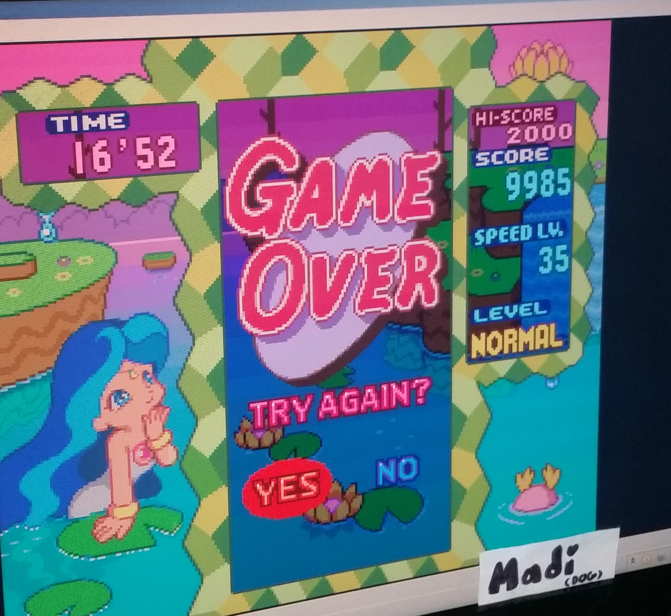 madi: Panel de Pon [Endless/Normal] (SNES/Super Famicom Emulated) 9,985 points on 2016-11-14 17:51:48