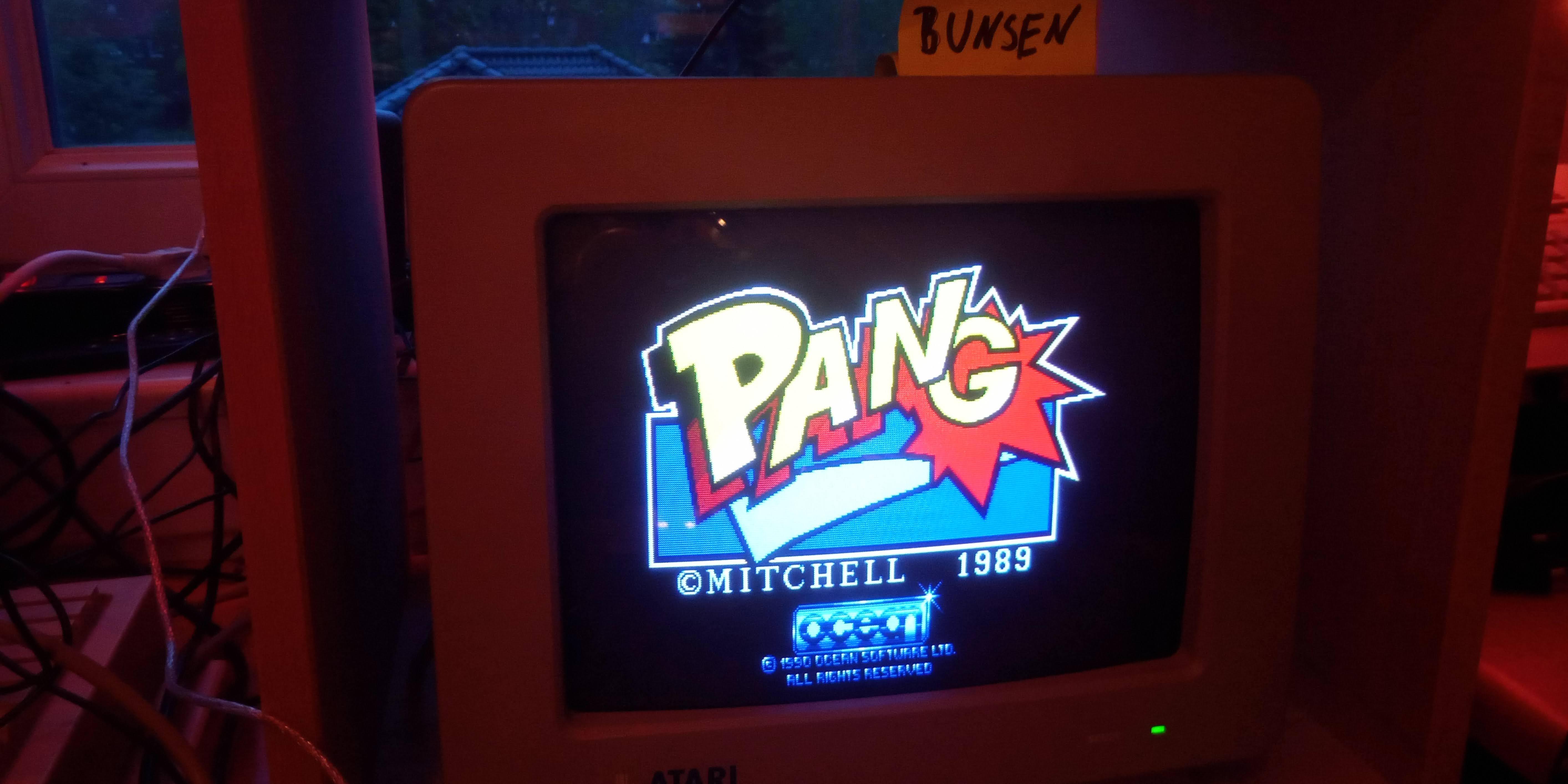 Bunsen: Pang [Easy] (Atari ST) 112,300 points on 2021-05-24 14:42:46