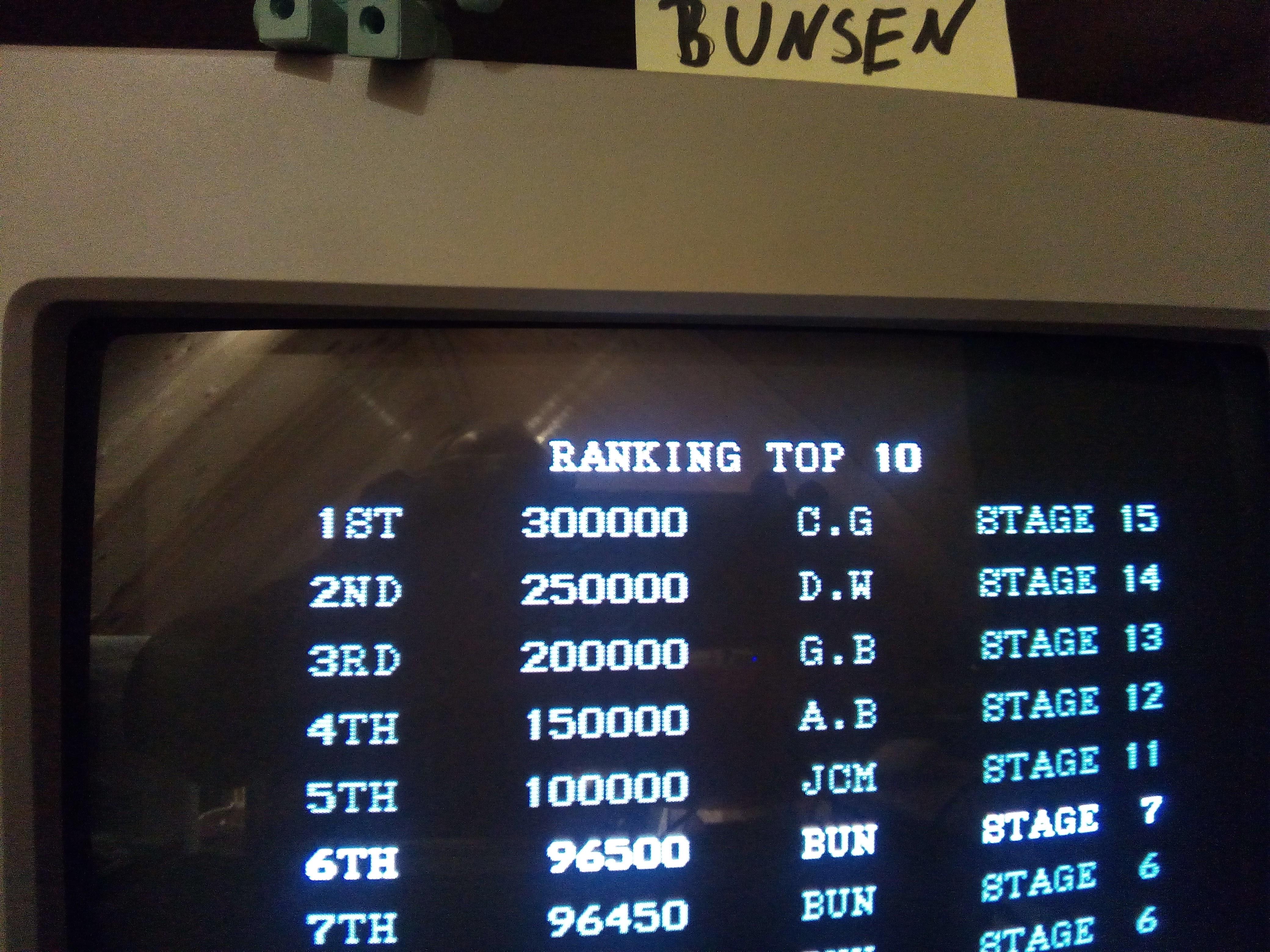 Bunsen: Pang [Normal] (Atari ST) 96,500 points on 2017-10-26 15:58:20