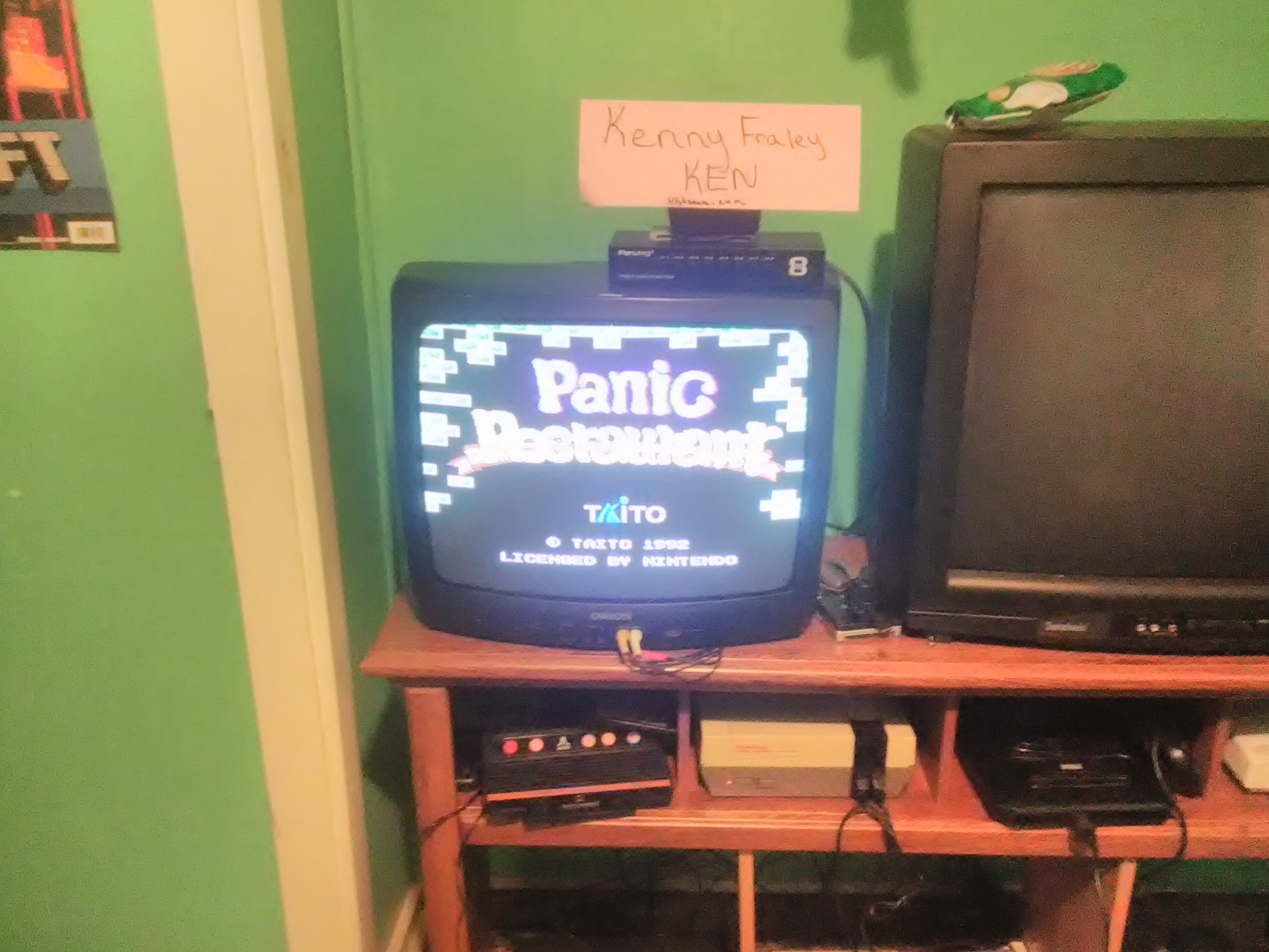 kennyfraley: Panic Restaurant (NES/Famicom) 53,500 points on 2018-11-02 01:38:35