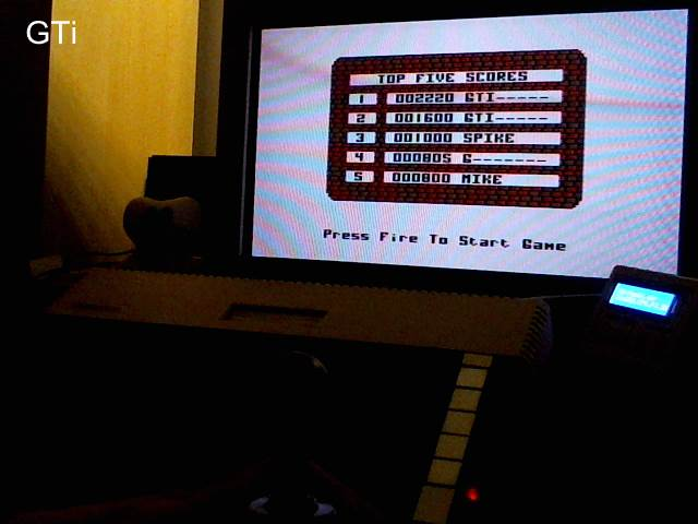 GTibel: Panik! [Atlantis] (Atari 400/800/XL/XE) 2,220 points on 2017-09-24 01:37:53