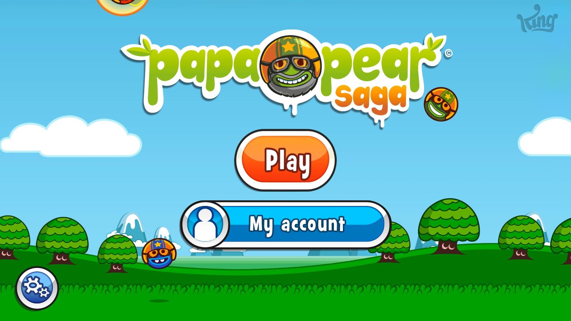 Papa Pear Saga: Level 001 12,410 points