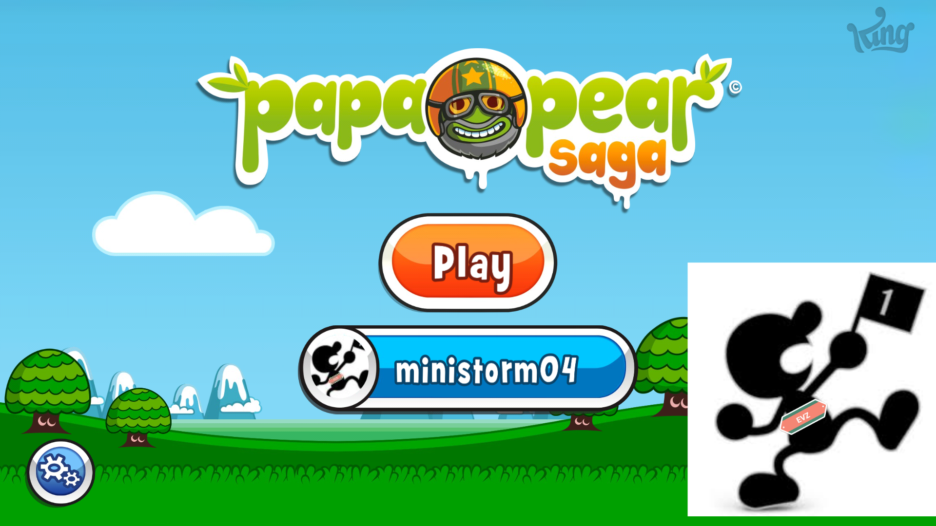 Papa Pear Saga: Level 002 41,380 points