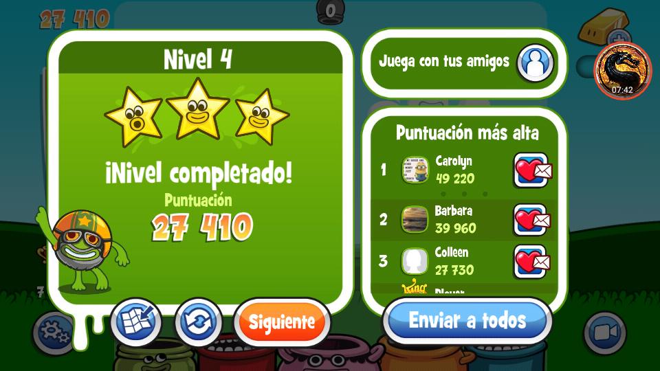 Papa Pear Saga: Level 004 27,410 points