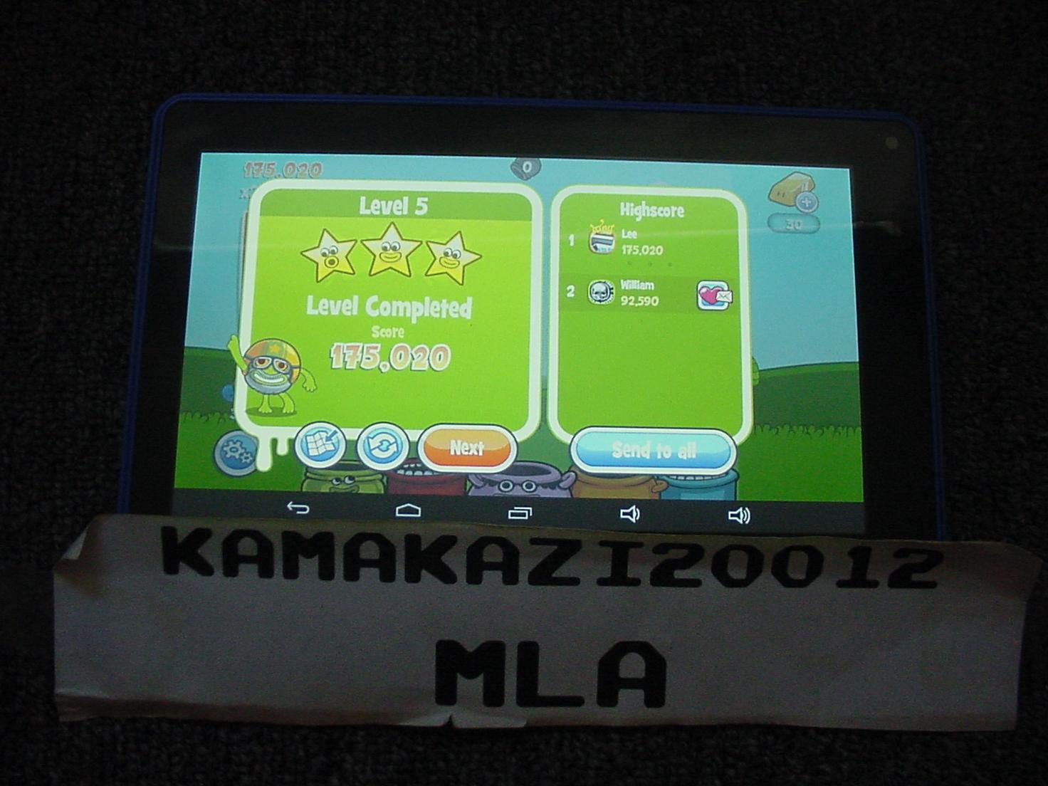 kamakazi20012: Papa Pear Saga: Level 005 (Android) 175,020 points on 2015-07-13 11:25:12