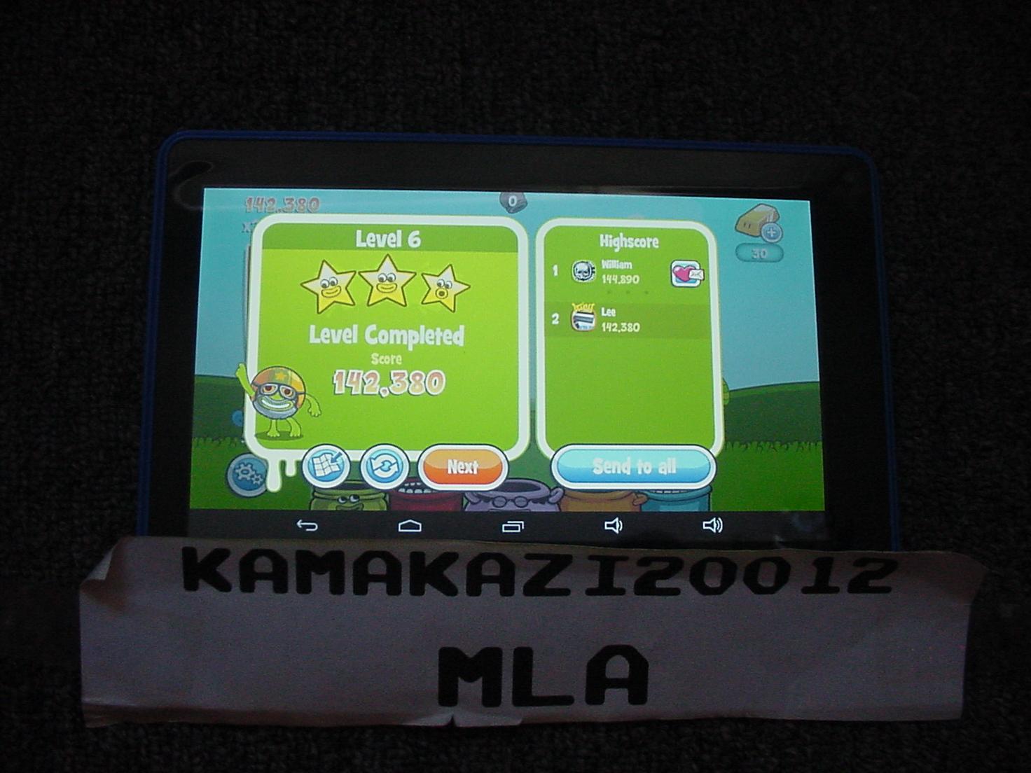 kamakazi20012: Papa Pear Saga: Level 006 (Android) 142,380 points on 2015-07-13 11:27:35