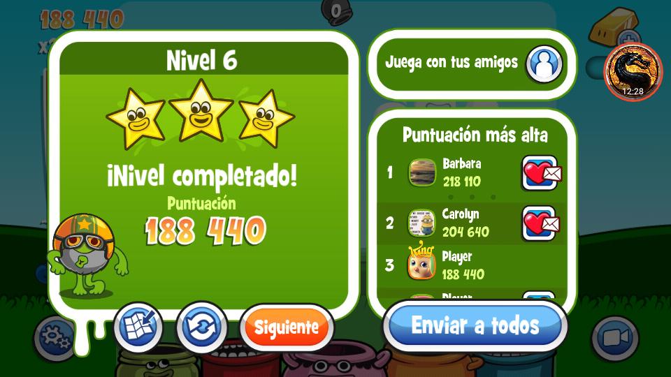 omargeddon: Papa Pear Saga: Level 006 (Android) 188,440 points on 2019-07-08 22:04:14