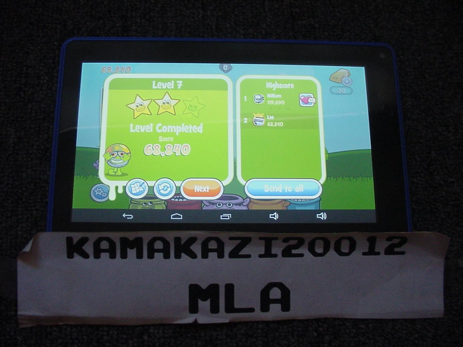 kamakazi20012: Papa Pear Saga: Level 007 (Android) 68,840 points on 2015-07-13 11:29:15