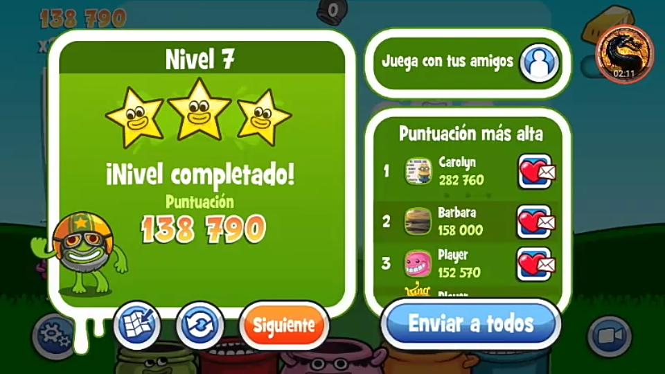 omargeddon: Papa Pear Saga: Level 007 (Android) 138,790 points on 2019-07-08 23:39:04