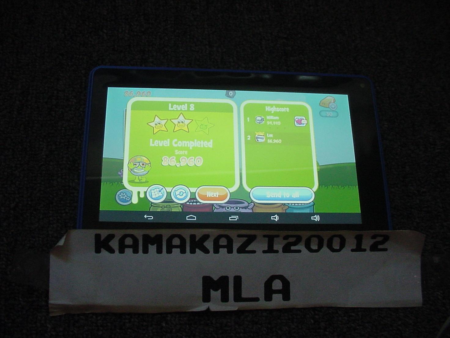 kamakazi20012: Papa Pear Saga: Level 008 (Android) 86,960 points on 2015-07-13 11:31:01