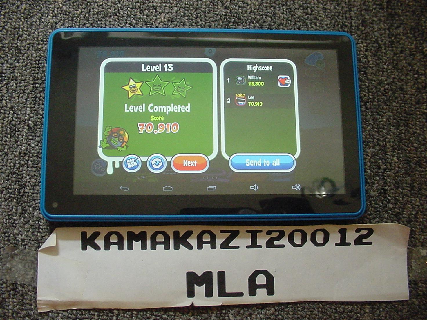 kamakazi20012: Papa Pear Saga: Level 013 (Android) 70,910 points on 2015-07-13 16:12:23
