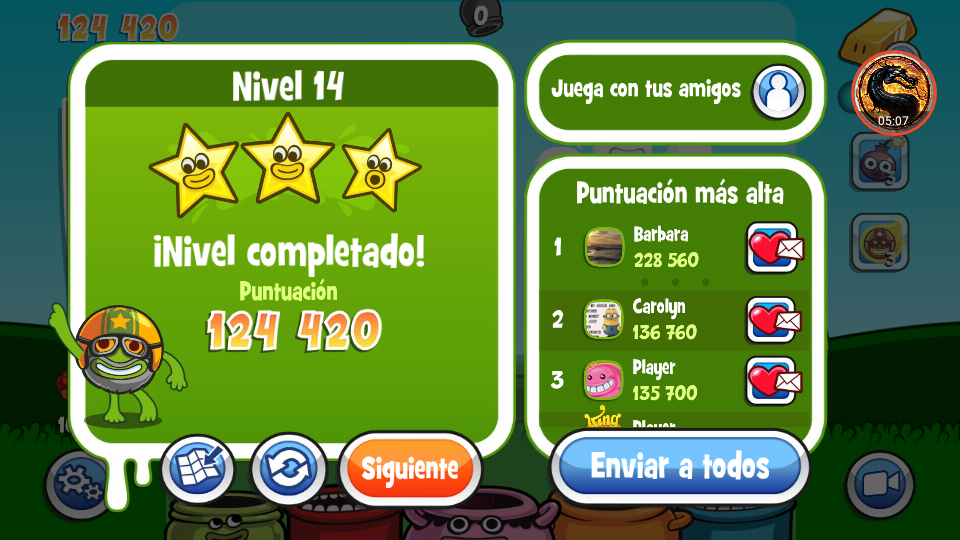 Papa Pear Saga: Level 014 124,420 points