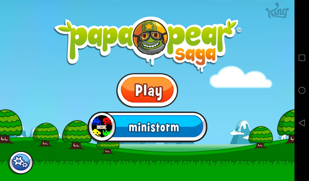 Papa Pear Saga: Level 018 448,100 points