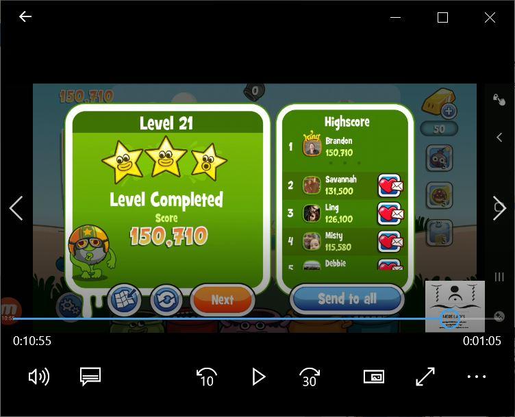 speedy4759123: Papa Pear Saga: Level 021 (Android) 150,710 points on 2020-02-29 01:53:20