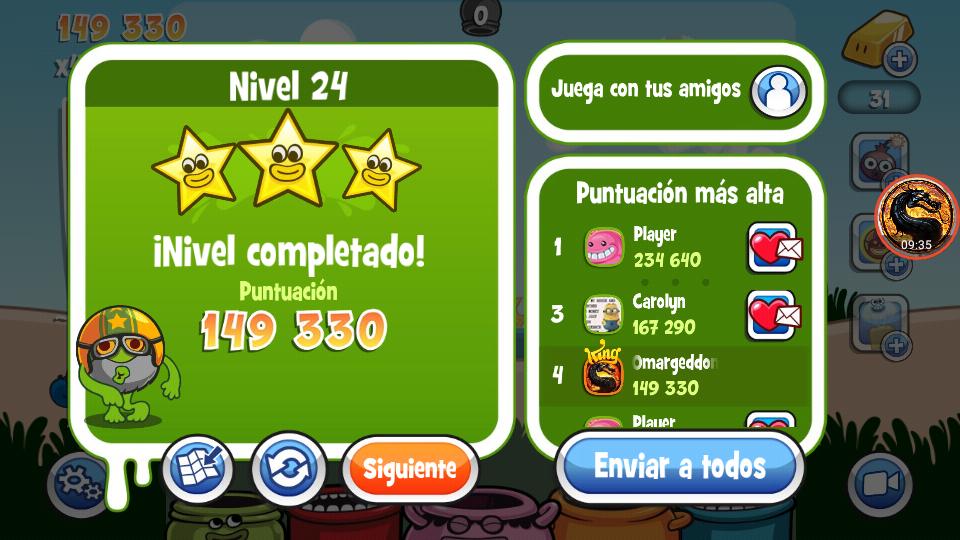 Papa Pear Saga: Level 024 149,330 points