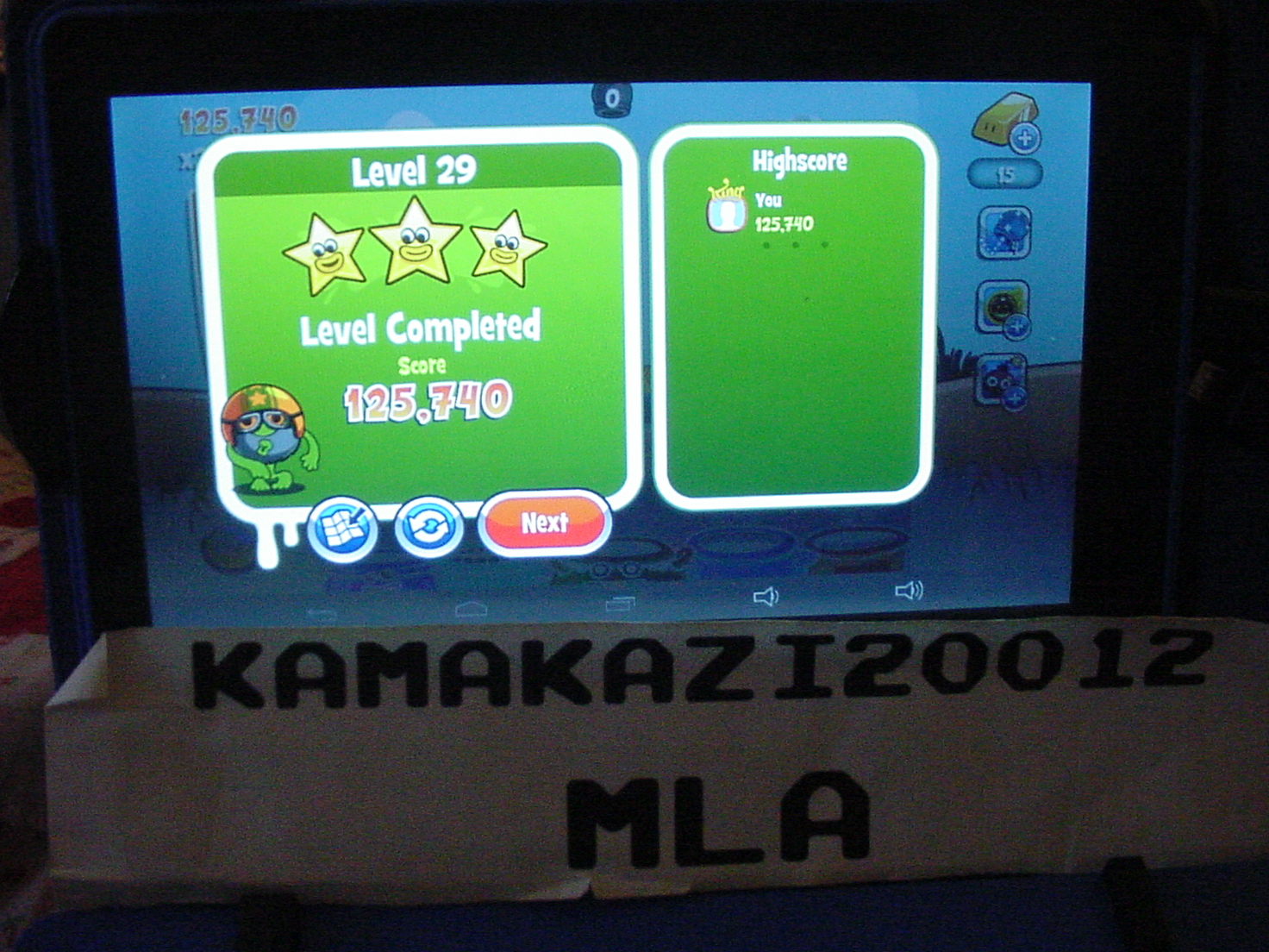 Papa Pear Saga: Level 029 125,740 points