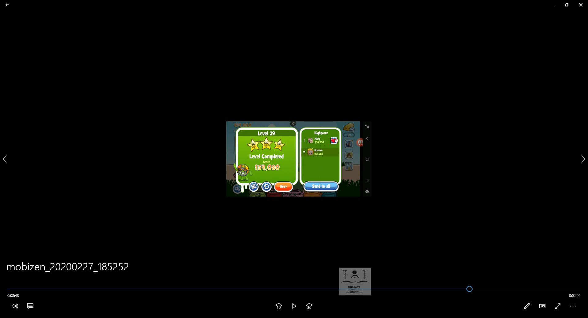 speedy4759123: Papa Pear Saga: Level 029 (Android) 154,080 points on 2020-03-04 08:07:45