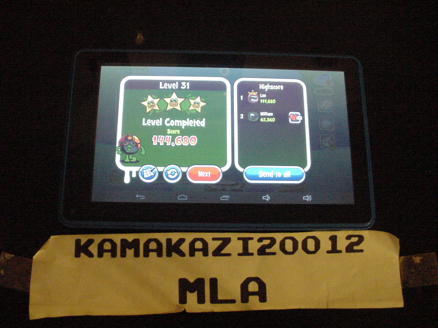 kamakazi20012: Papa Pear Saga: Level 031 (Android) 144,680 points on 2015-07-15 00:51:07