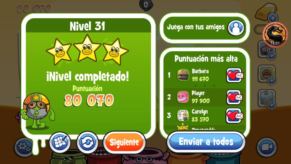 Papa Pear Saga: Level 031 80,070 points