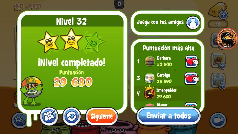 Papa Pear Saga: Level 032 29,680 points