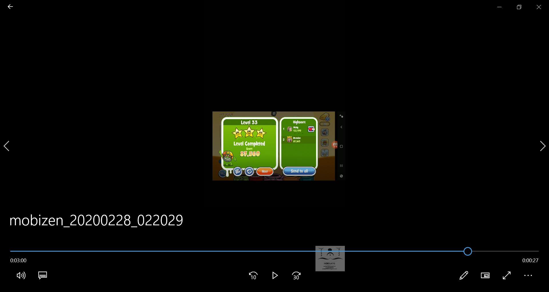 speedy4759123: Papa Pear Saga: Level 033 (Android) 87,560 points on 2020-03-13 07:44:51