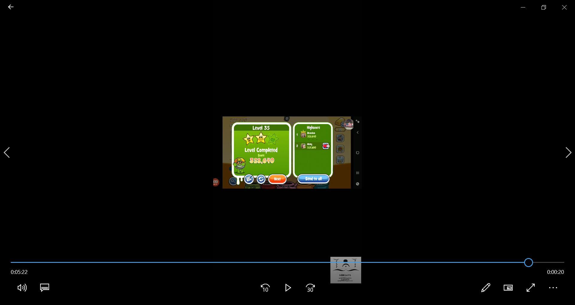 speedy4759123: Papa Pear Saga: Level 035 (Android) 328,640 points on 2020-03-19 12:17:52