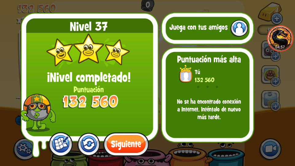 omargeddon: Papa Pear Saga: Level 037 (Android) 132,560 points on 2019-07-09 18:21:44