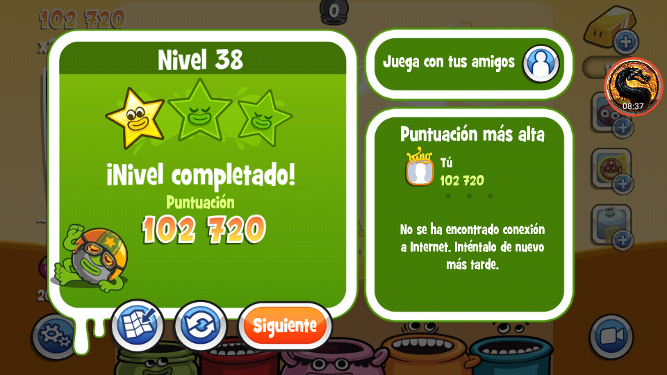 omargeddon: Papa Pear Saga: Level 038 (Android) 102,720 points on 2019-07-09 18:22:22