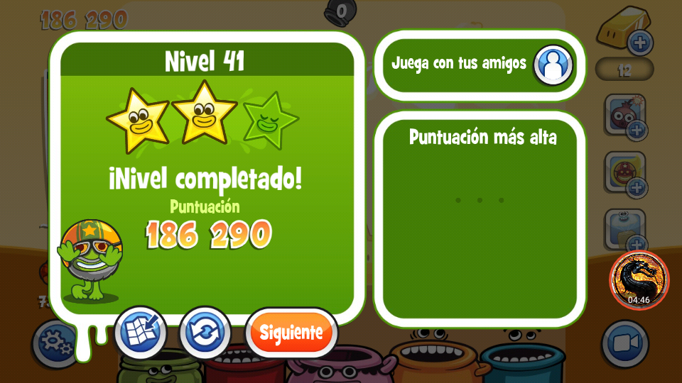 omargeddon: Papa Pear Saga: Level 041 (Android) 186,290 points on 2019-07-09 18:26:49