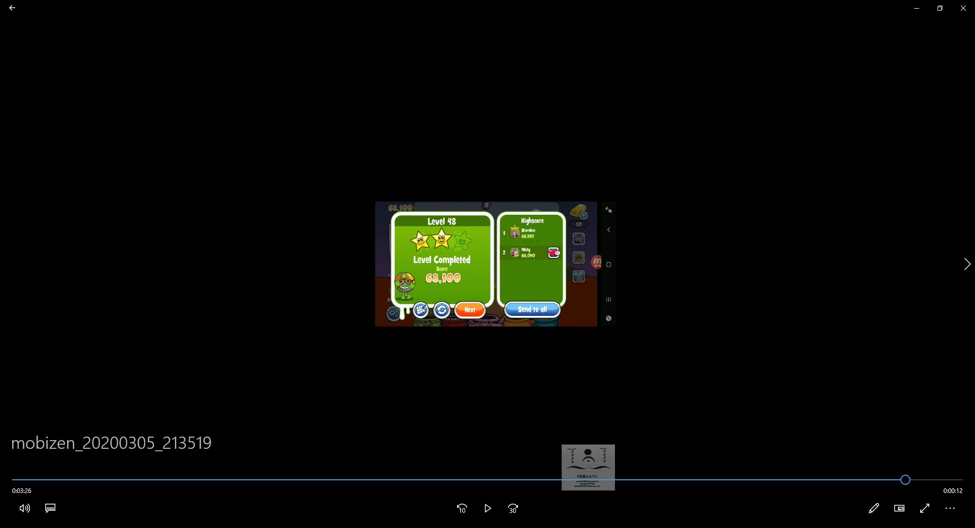 speedy4759123: Papa Pear Saga: Level 048 (Android) 68,100 points on 2020-03-29 07:52:49