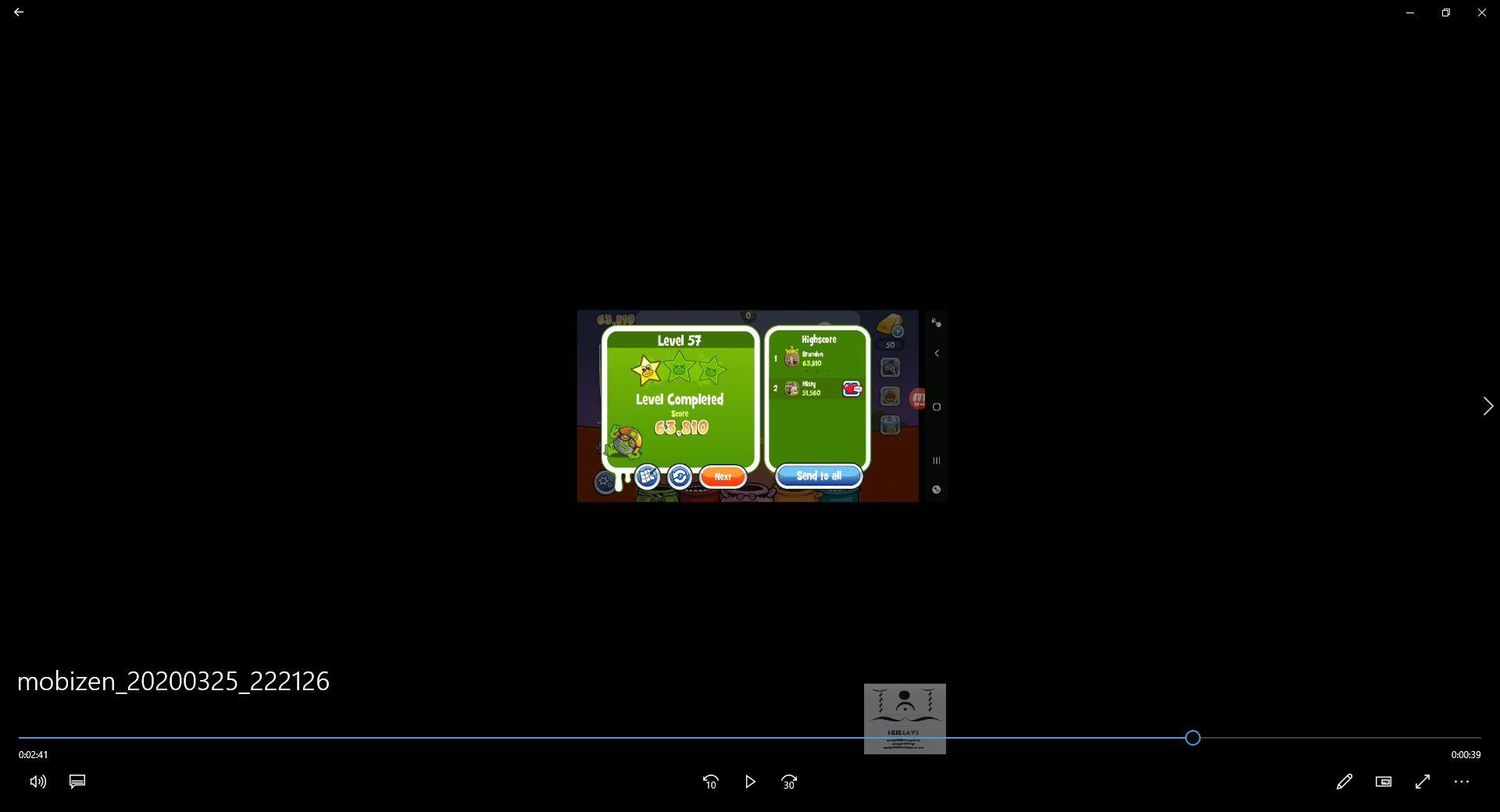 speedy4759123: Papa Pear Saga: Level 057 (Android) 63,810 points on 2020-04-07 14:46:20