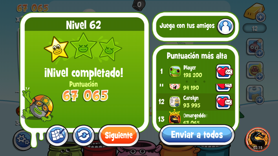omargeddon: Papa Pear Saga: Level 062 (Android) 67,065 points on 2019-08-30 15:26:03