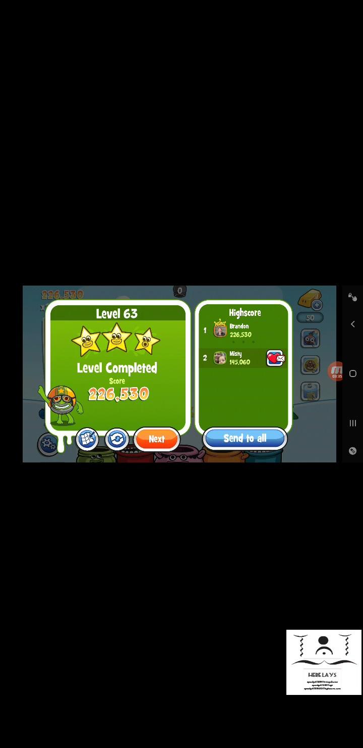 speedy4759123: Papa Pear Saga: Level 063 (Android) 226,530 points on 2020-07-17 19:09:24