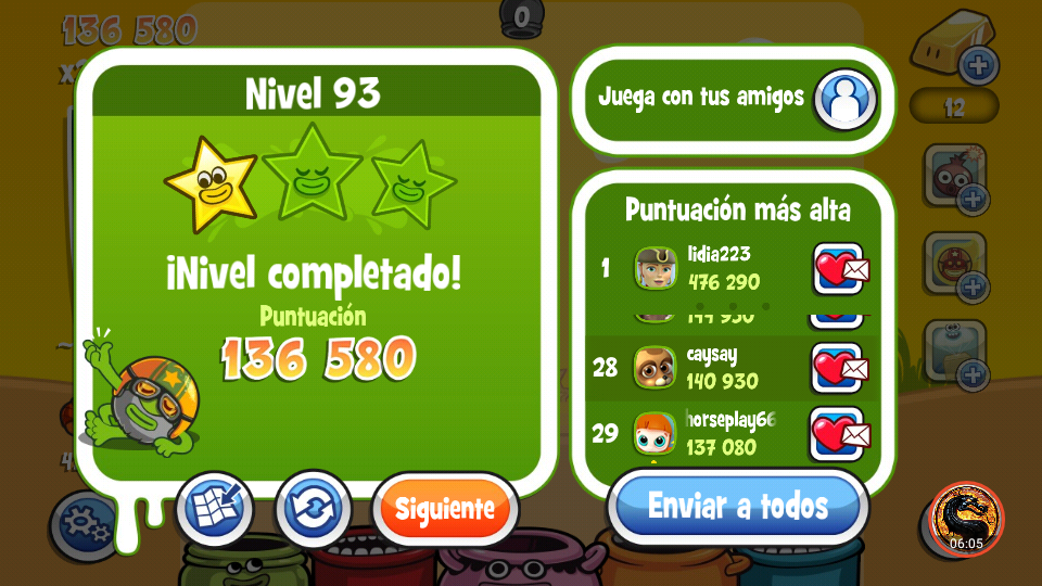 omargeddon: Papa Pear Saga: Level 093 (Android) 136,580 points on 2019-09-29 19:39:30