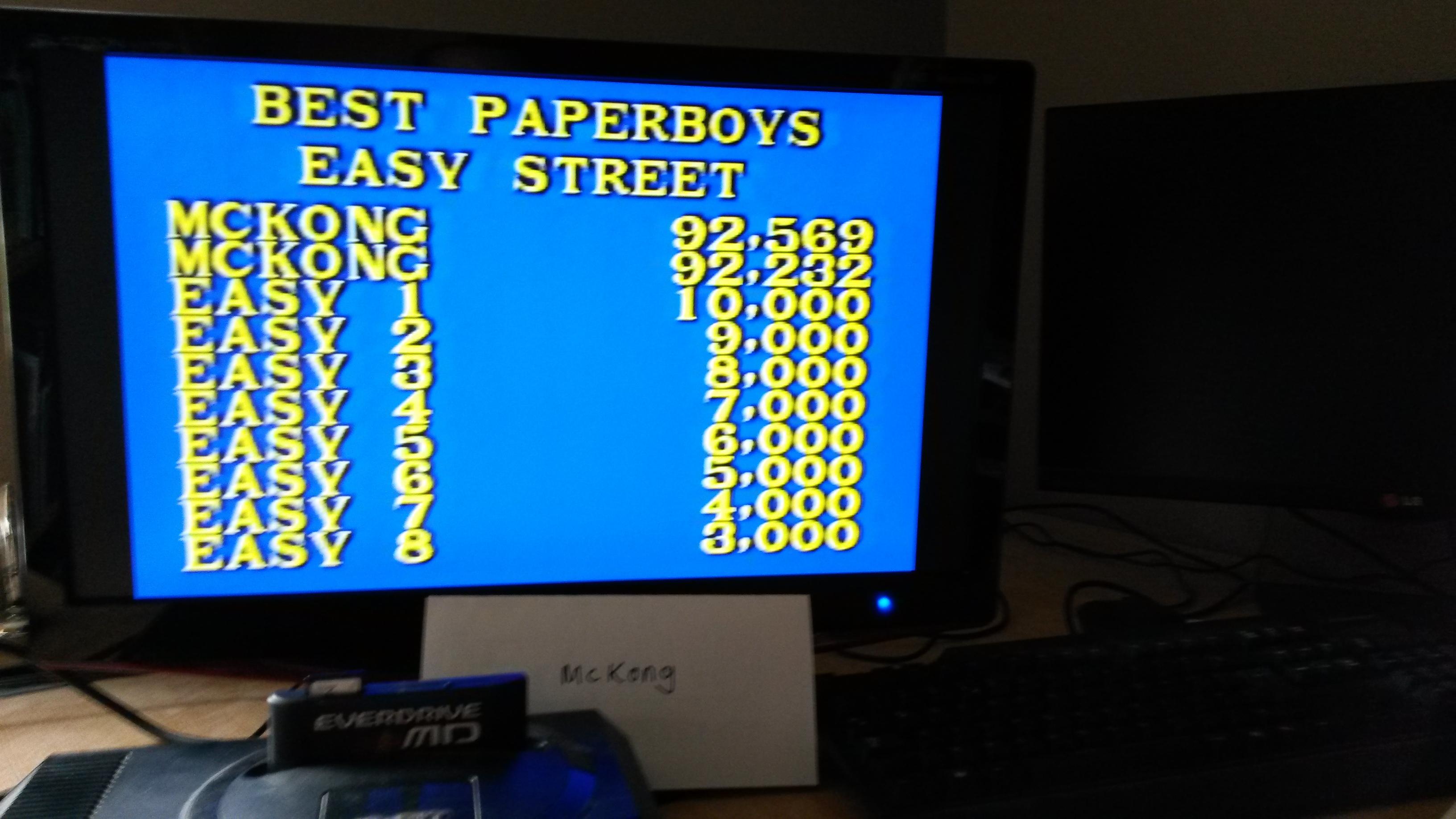 Paper Boy: Easy St [Medium]