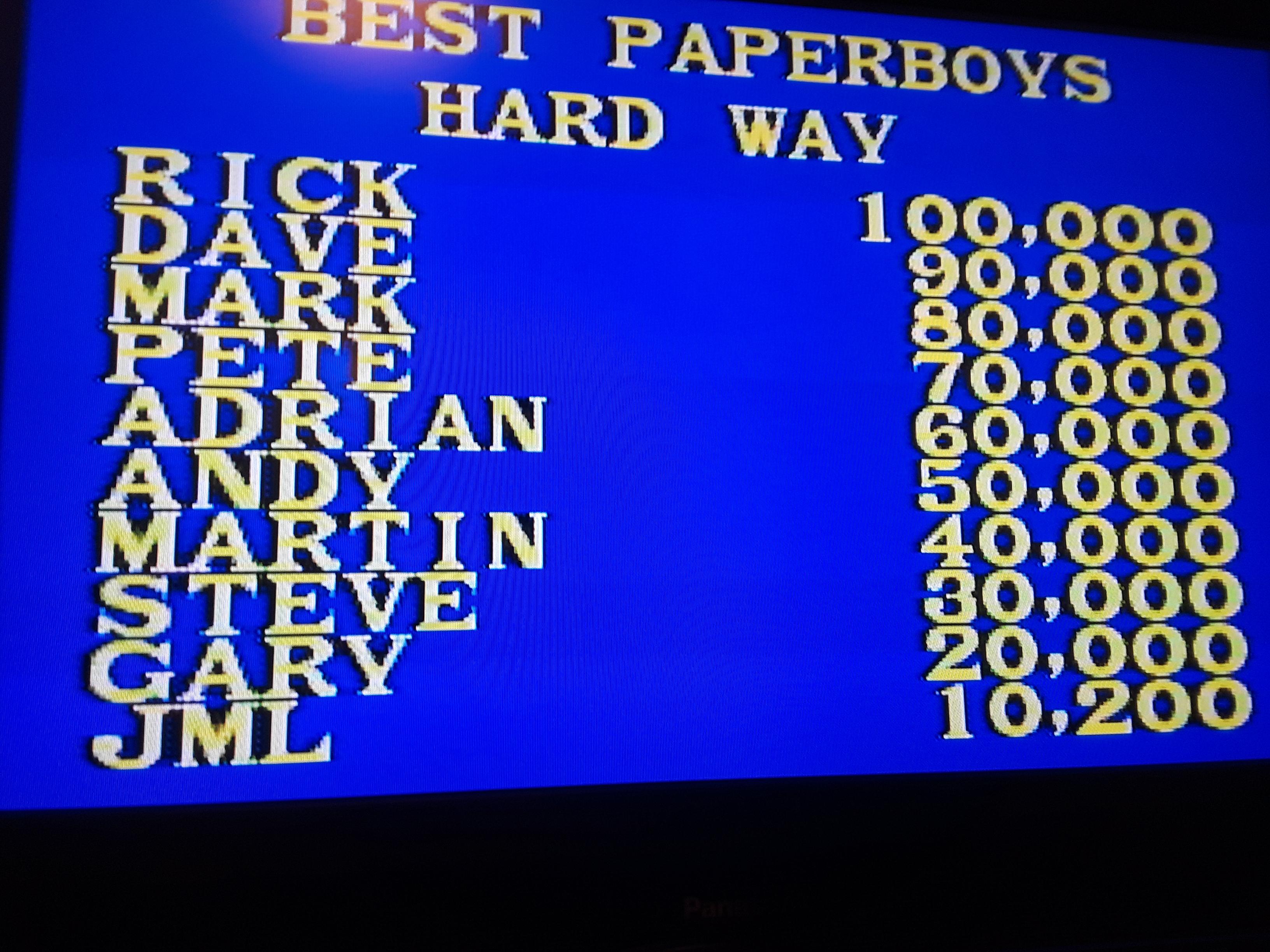 Paper Boy: Hard Way [Medium]
