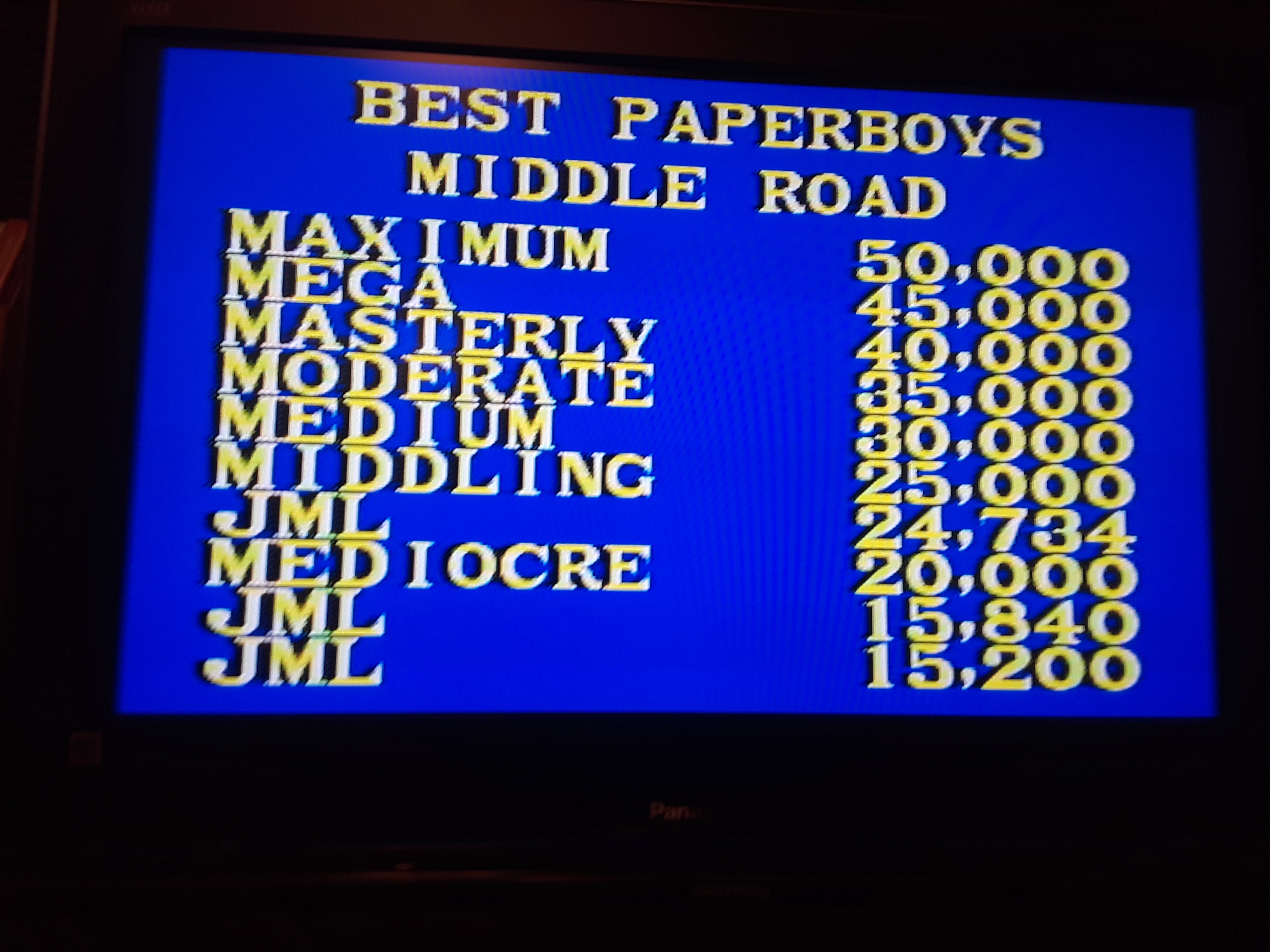 Paper Boy: Middle Road [Hard]