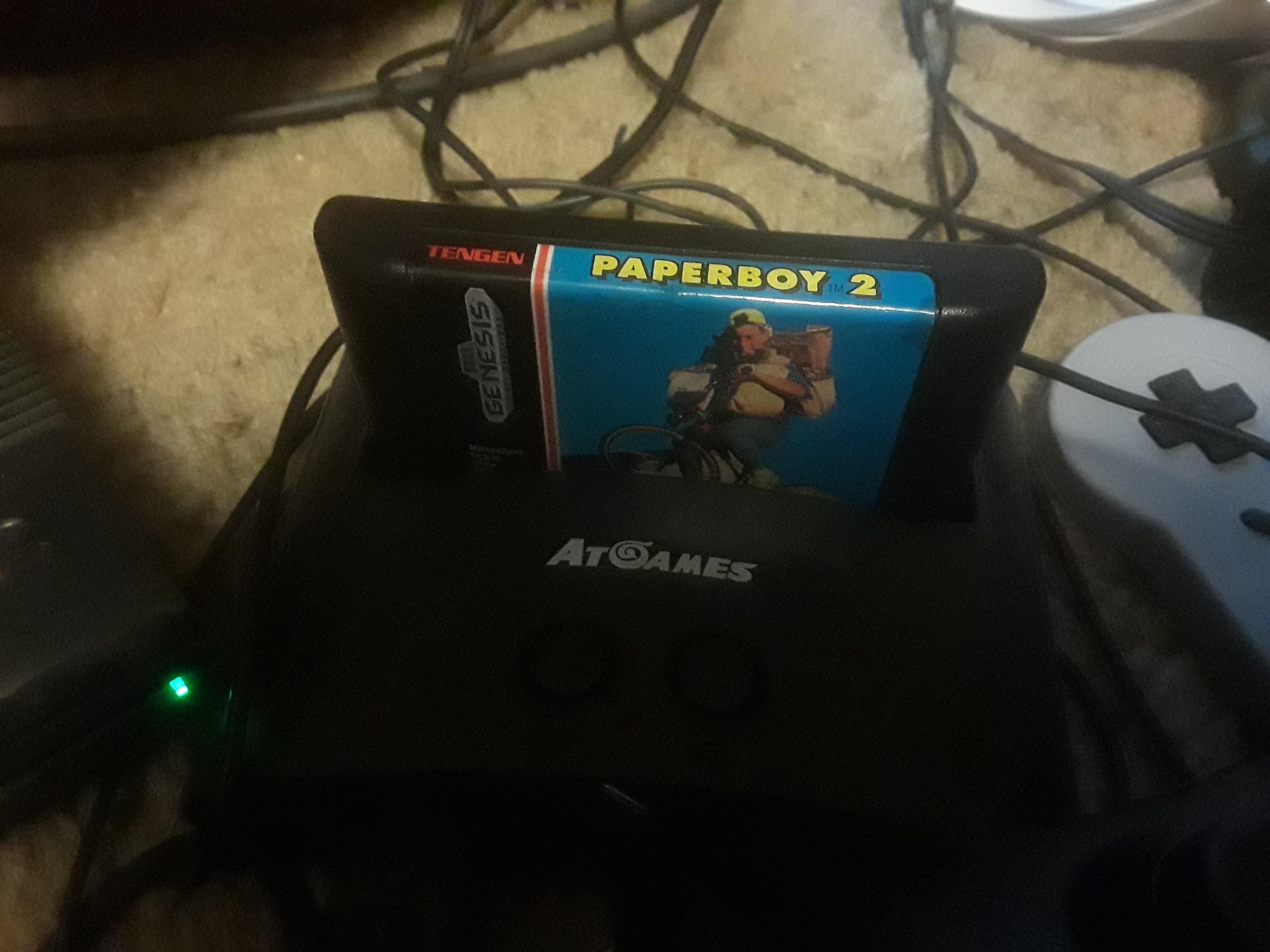 JML101582: Paperboy 2 (Sega Genesis / MegaDrive Emulated) 2,100 points on 2019-03-22 20:34:28