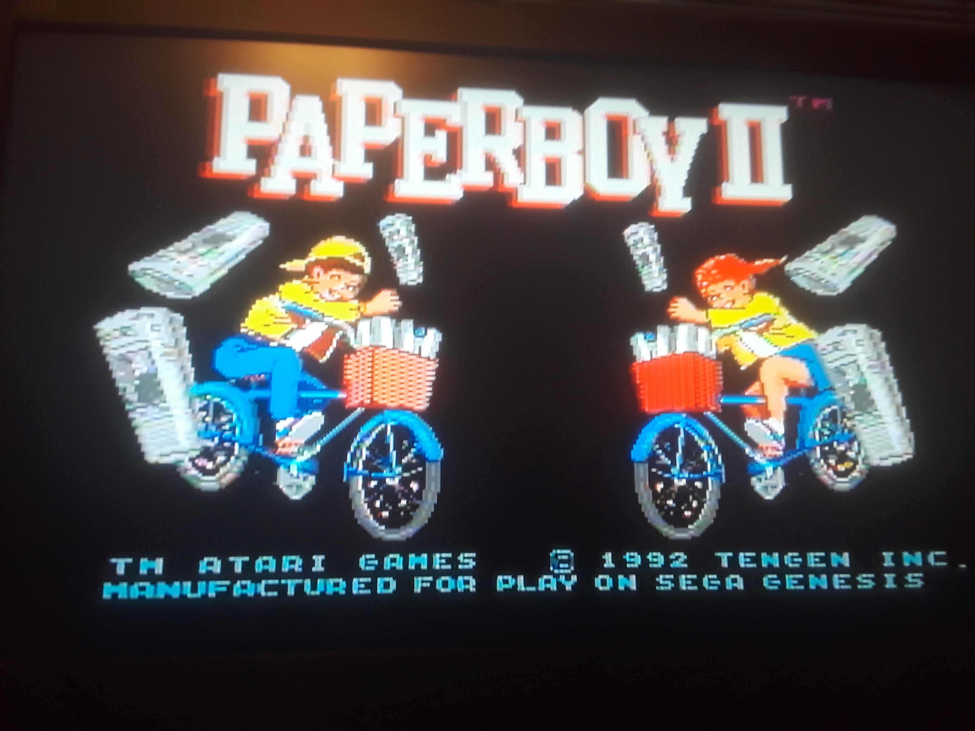 Paperboy 2 2,100 points