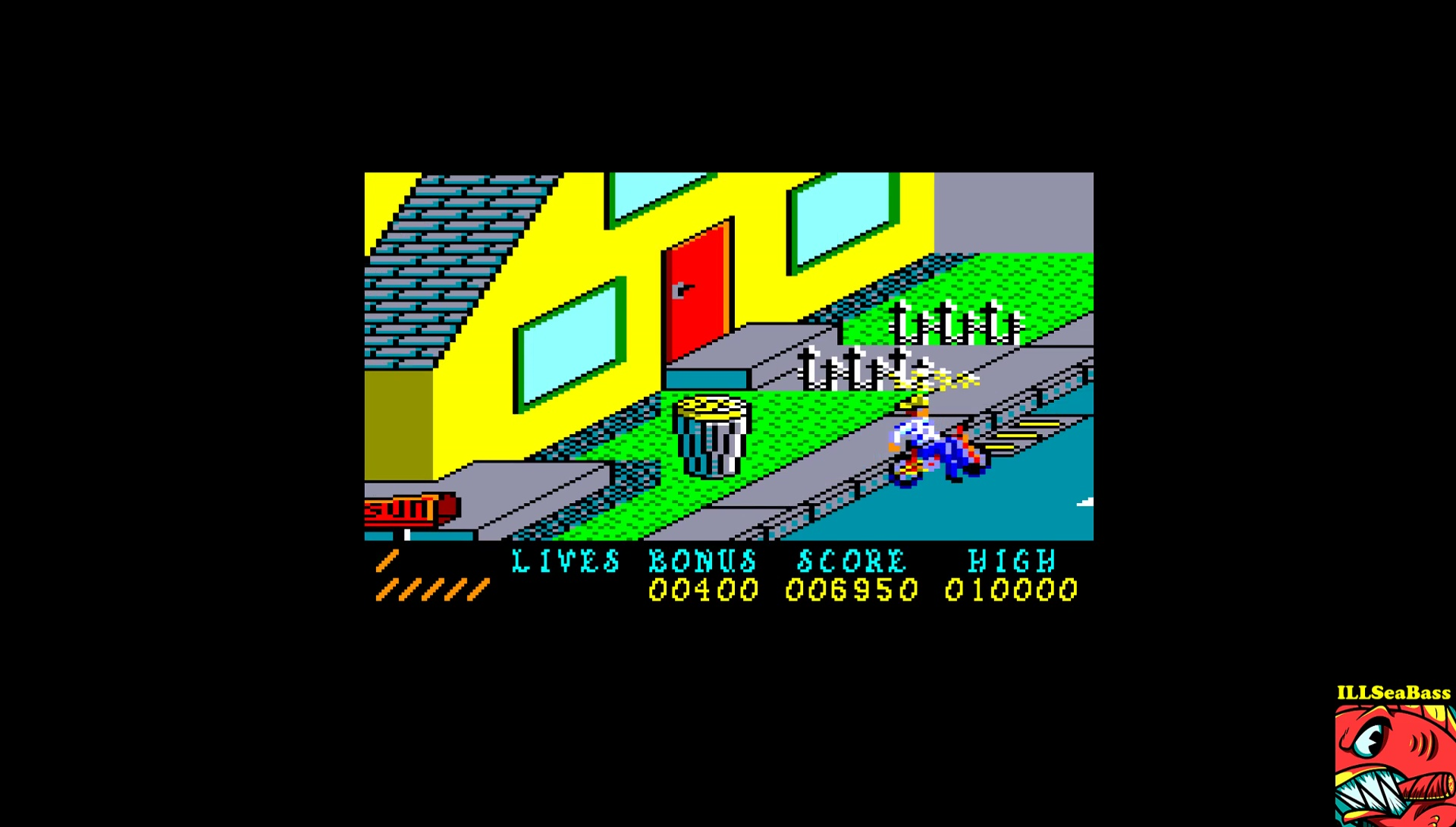 ILLSeaBass: Paperboy (Amstrad CPC Emulated) 6,950 points on 2017-03-03 01:00:13