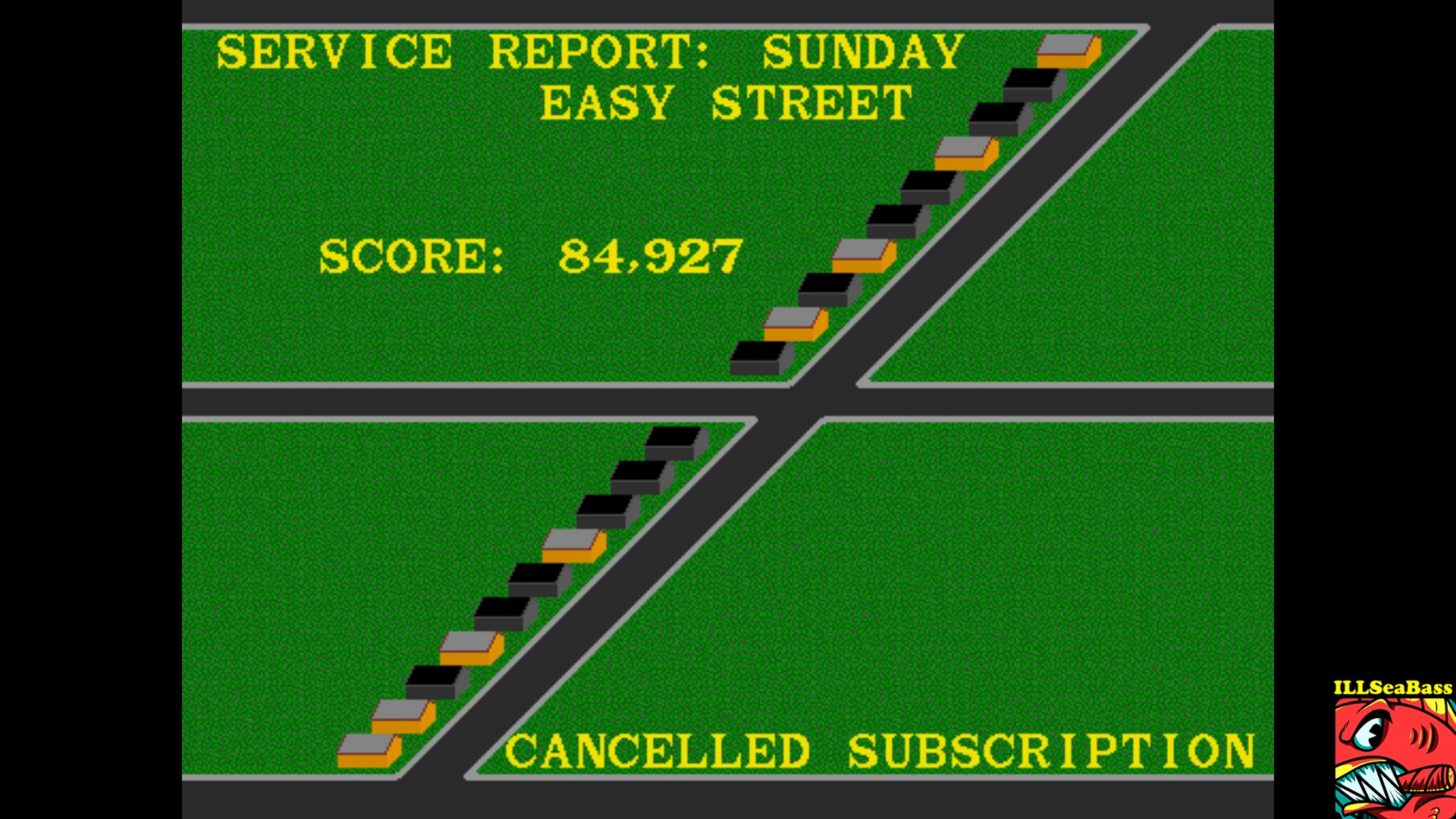 ILLSeaBass: Paperboy (Arcade Emulated / M.A.M.E.) 84,927 points on 2017-10-31 00:39:05