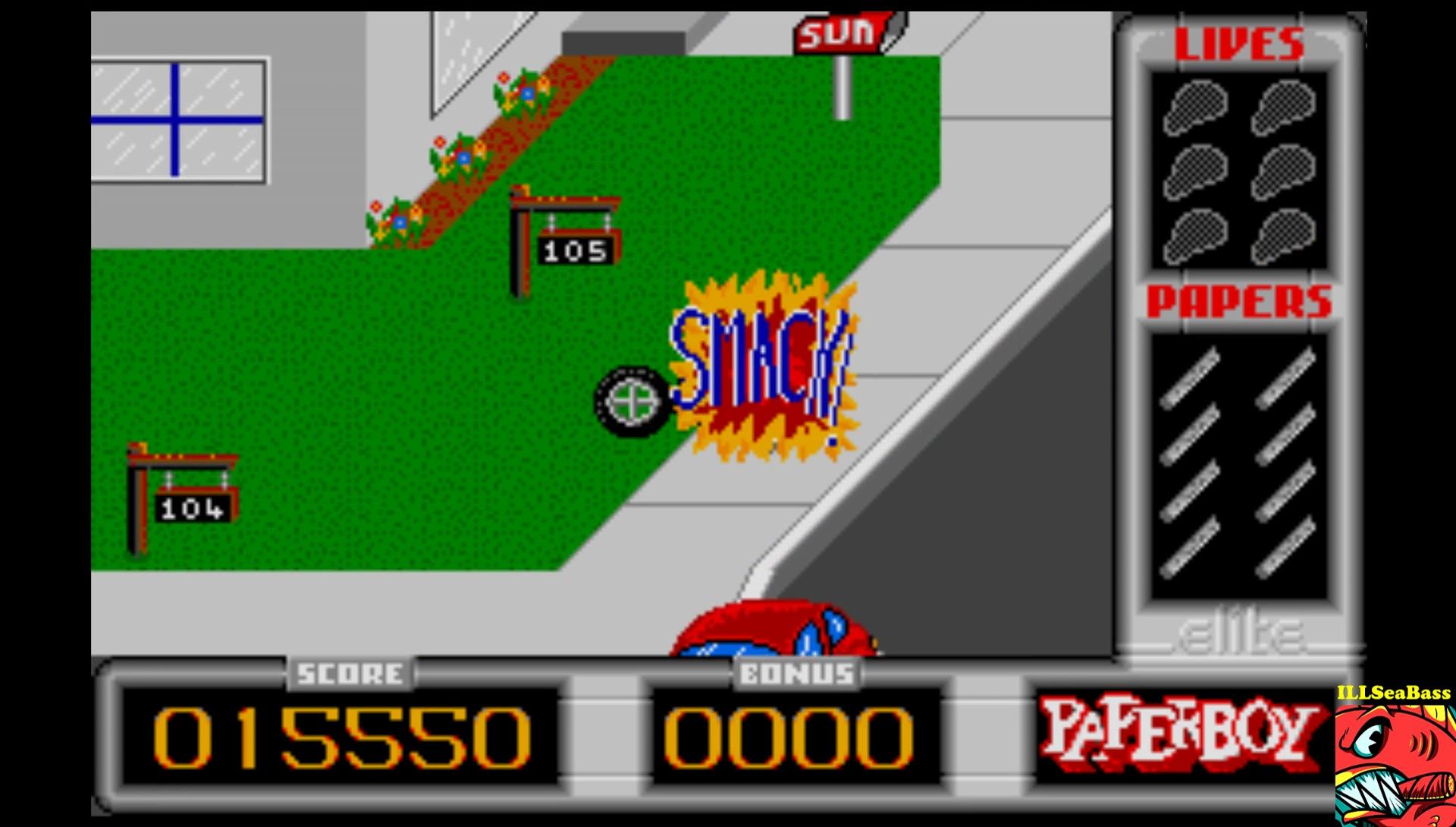 ILLSeaBass: Paperboy [Easy Street] (Atari ST Emulated) 15,550 points on 2017-03-04 22:22:07