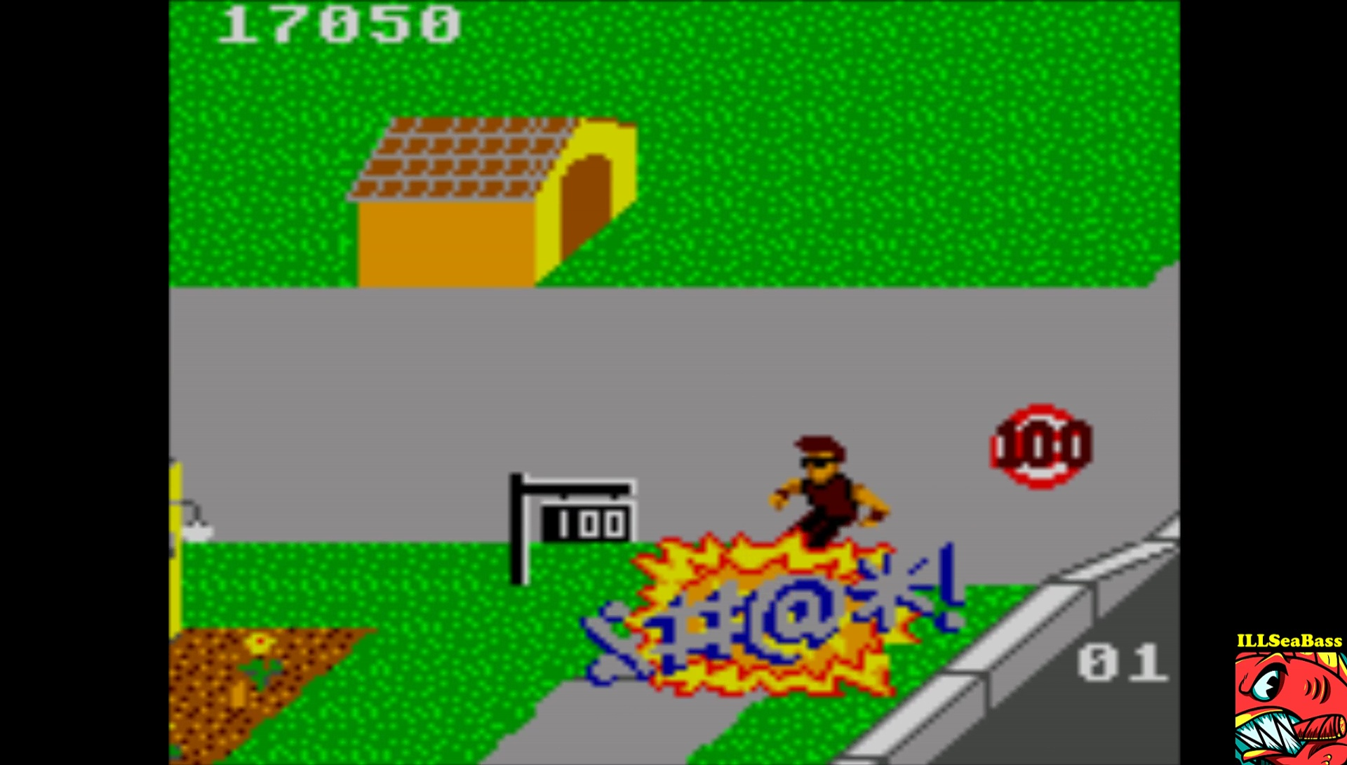 ILLSeaBass: Paperboy [Easy Street] (Sega Game Gear Emulated) 17,050 points on 2017-02-18 20:39:00