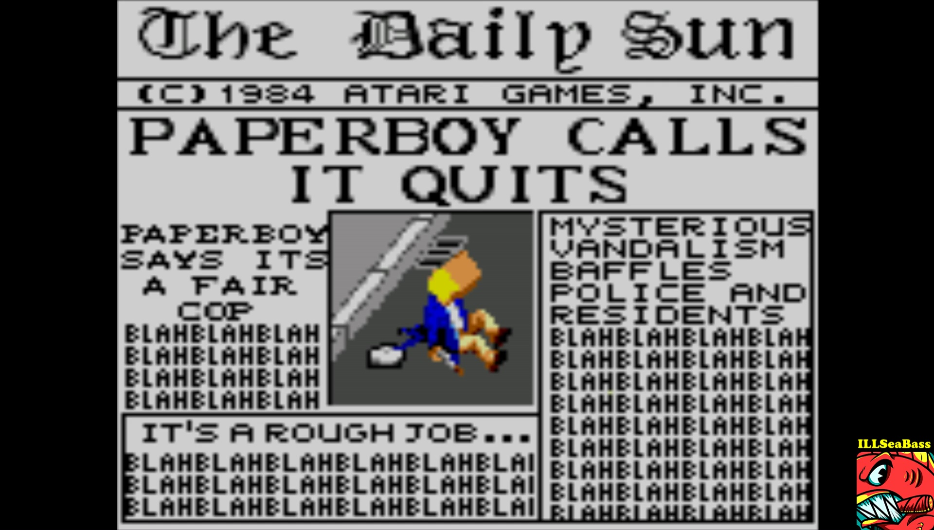 Paperboy [Easy Street] 17,050 points