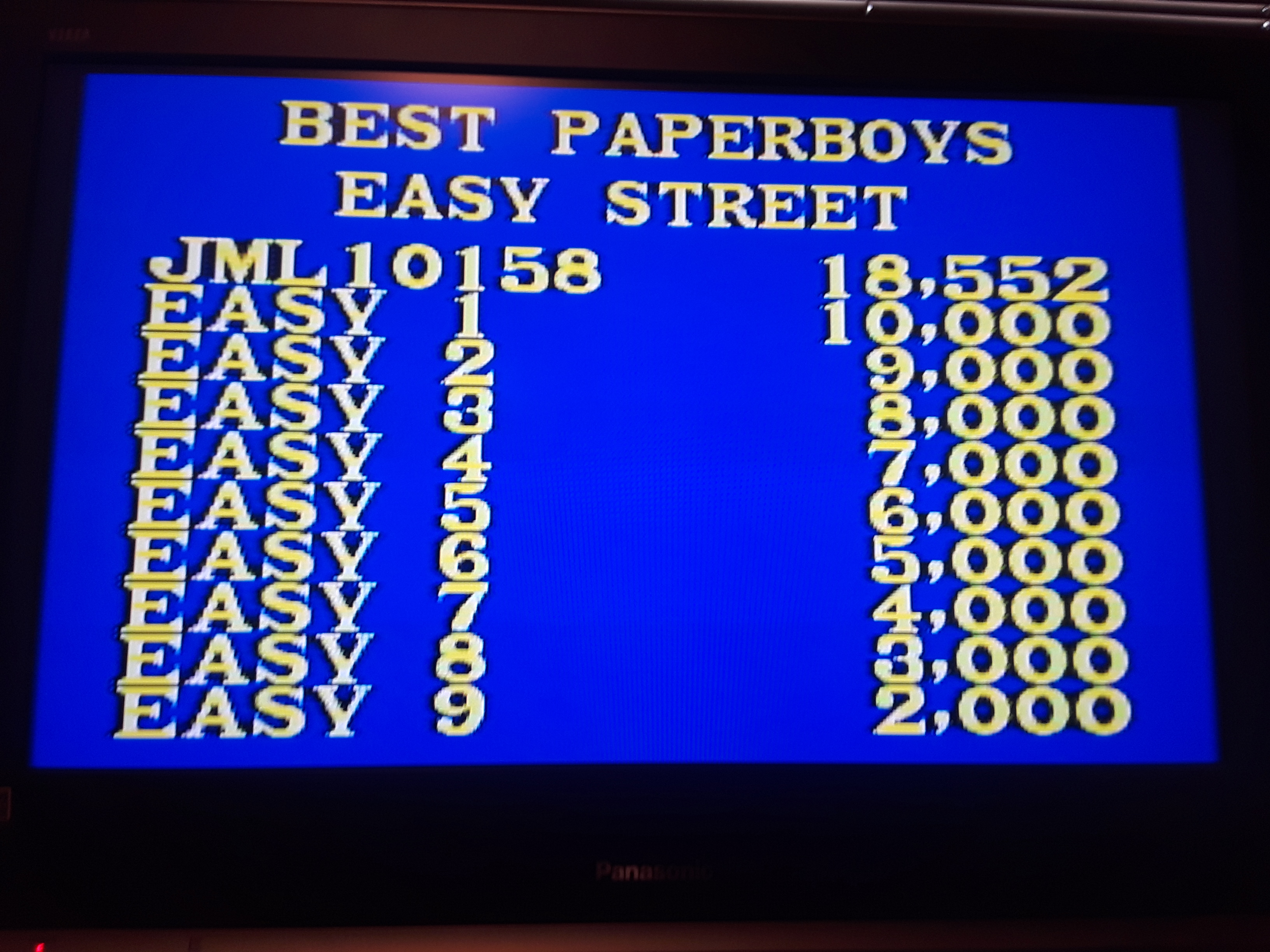 Paperboy [Easy Street] 18,552 points