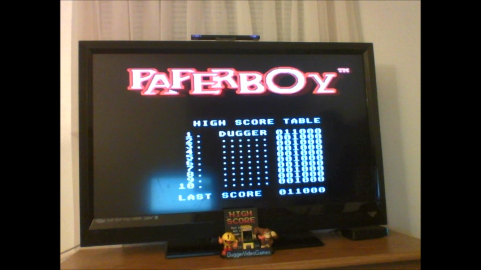 DuggerVideoGames: Paperboy [Easy Street] (Sega Master System Emulated) 11,000 points on 2017-03-01 03:05:46