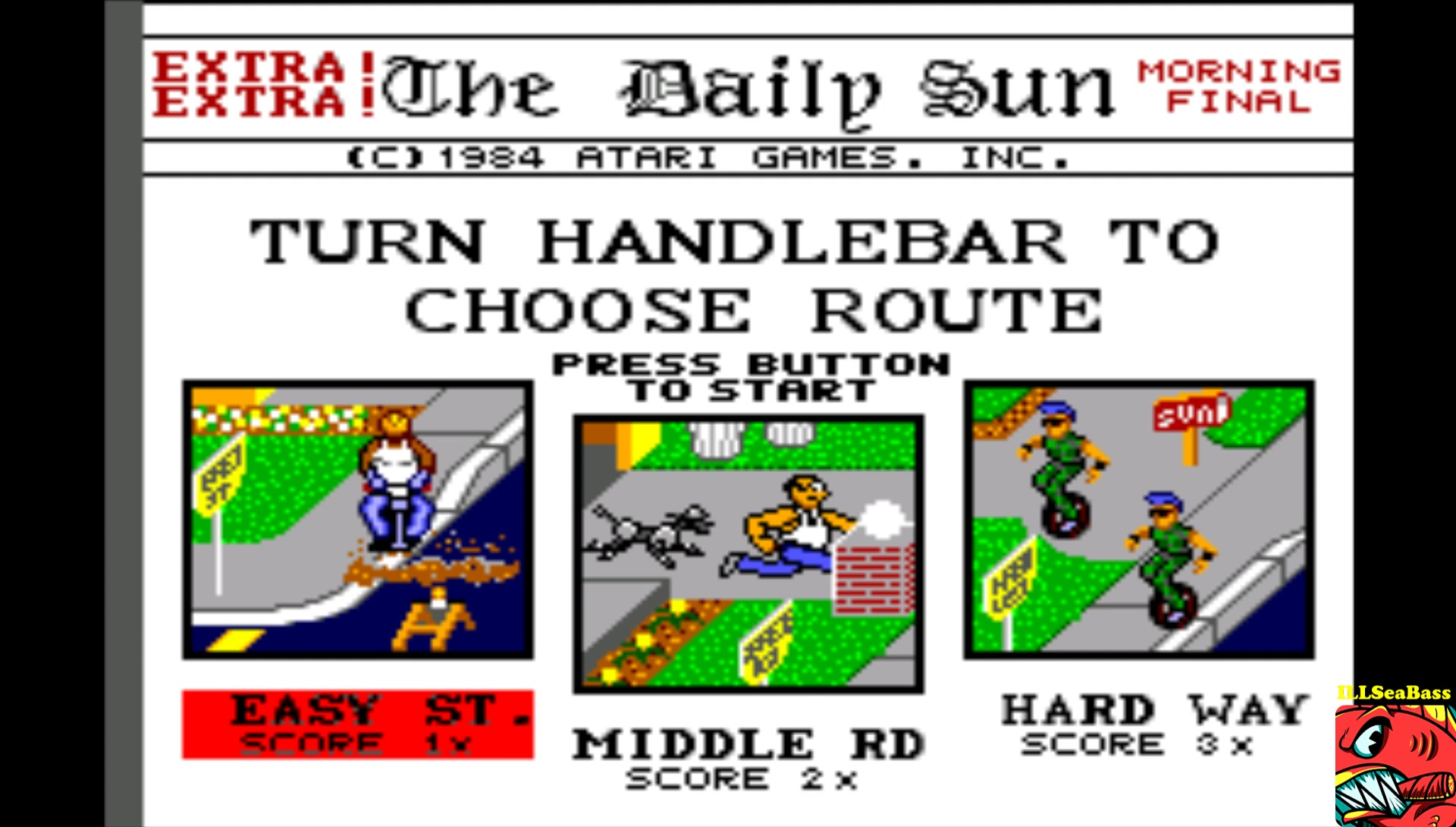Paperboy [Easy Street] 28,050 points